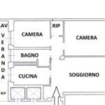 via cimabue 5 - 10 piano - 3 locali affitto
